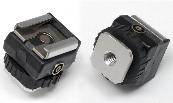 Item #0065 PC to Flash Hotshoe Adapter