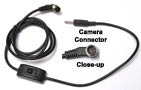 Shutter Release Cable for Nikon — 10 Pin with Locking Collar to Pocket Wizard