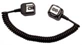 Off Camera iTTL Cord for Nikon — 3 Foot Coiled Cord